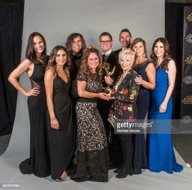 Cast of 'Days of Our Lives' pose at 45th Daytime Emmy Awards Portraits by The Artists Project Sponsored by the Visual Snow Initiative on April 29...