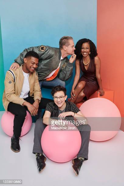 Cast of 'Deputy' Shane Paul McGhie, Brian Van Holt, Bex Taylor-Klaus and Danielle Moné Truitt are photographed for Entertainment Weekly Magazine on...