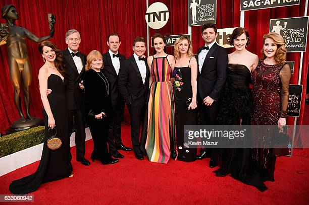 Cast of 'Downton Abbey' attends The 23rd Annual Screen Actors Guild Awards at The Shrine Auditorium on January 29, 2017 in Los Angeles, California....