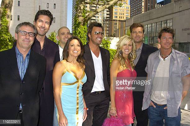 Cast of Extreme Makeover Home Edition during 2005/2006 ABC UpFront at Lincoln Center in New York City New York United States