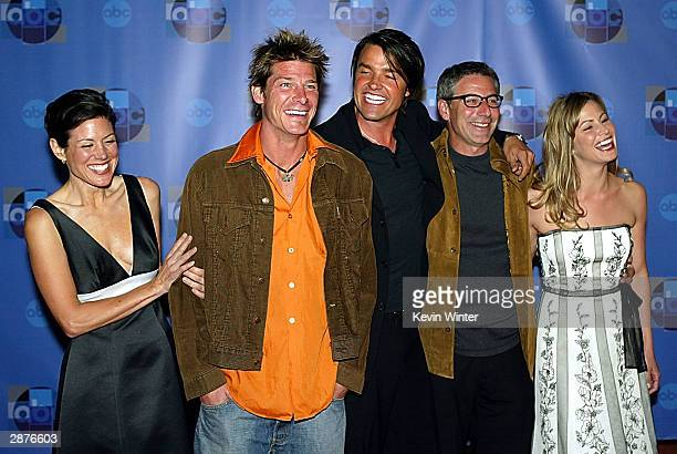 Cast of Extreme Makeover Home Edition during the ABCTV's AllStar Party at the 2004 TCA Winter Tour at Astra West on January 15 2004 in West Hollywood...