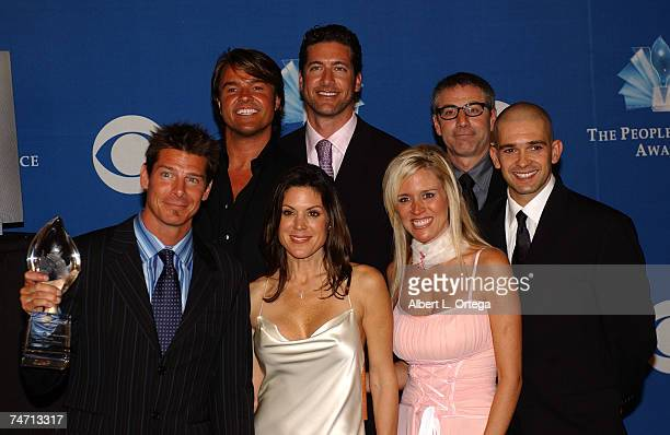 Cast of Extreme Makeover Home Edition Preston Sharp Michael Moloney Paul Dimeo Ty Pennington Constance Ramos Paige Hemmis and Ed Sanders during 31st...