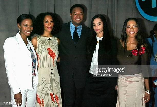 """Cast of """"Girlfriends"""": Jill Marie Jones, Tracee Ellis Ross, Reggie Hayes, Persia White & Golden Brooks"""