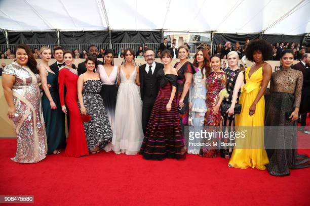 Cast of 'Glow' attends the 24th Annual Screen Actors Guild Awards at The Shrine Auditorium on January 21 2018 in Los Angeles California 27522_017
