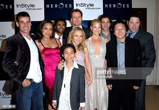 Cast of Heroes Adrian Pasdar Tawny Cypress Sendhil Ramamurthy Noah GrayCabey Hayden Panettiere Jack Coleman Ali Larter Santiago Cabrera Masi Oka and...