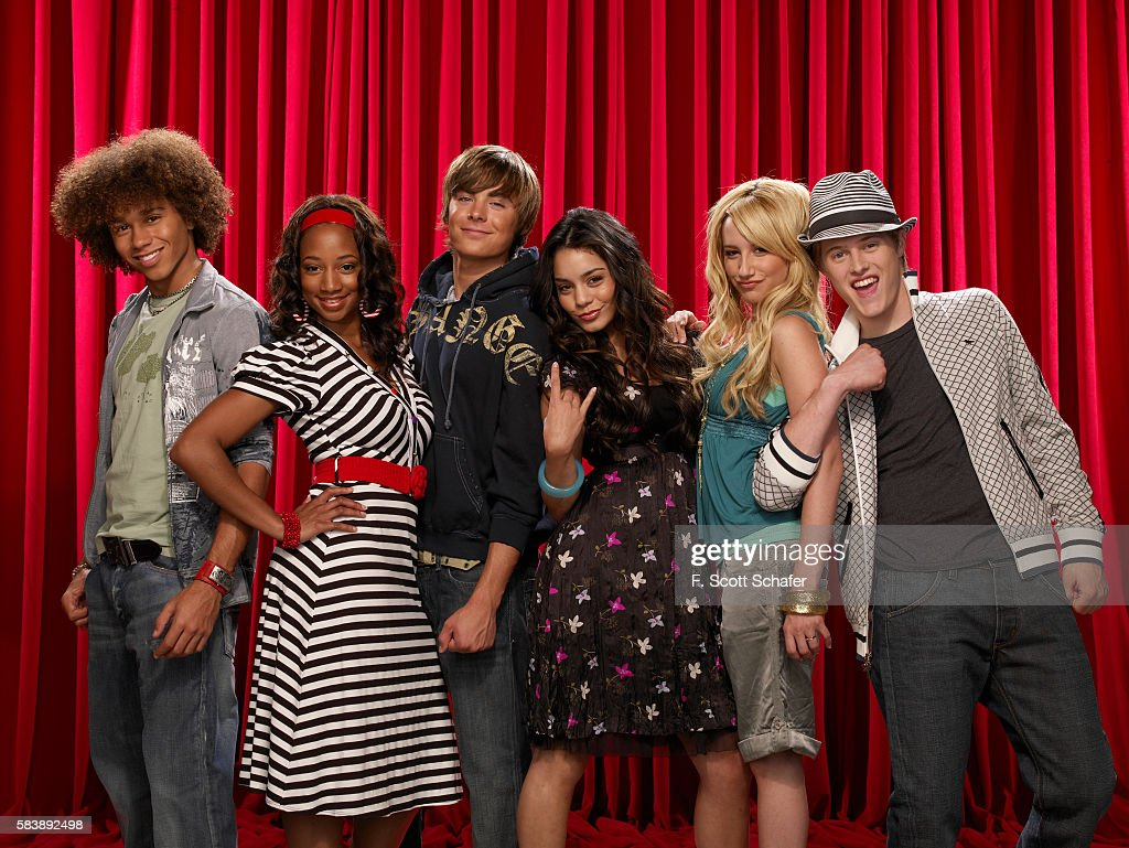 Cast of High School Musical, 2006 : Foto jornalística