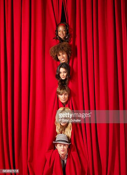 Cast of High School Musical are photographed in 2006