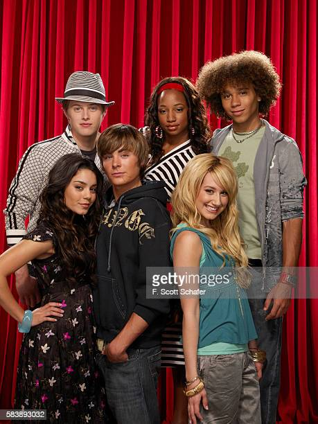 Cast of High School Musical clockwise from top left Lucas Grabeel Monique Coleman Corbin Bleu Ashley Tisdale Zac Efron and Vanessa Hudgens are...