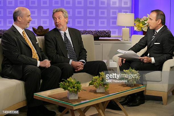 TODAY Cast of Knot's Landing Air Date 2/28/08 Pictured Joel Brodksy and Drew Peterson speak with coanchor Matt Lauer about Petersson being a suspect...