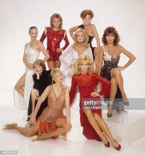 Cast of Knots Landing pose for a portrait in 1982 in Los Angeles California