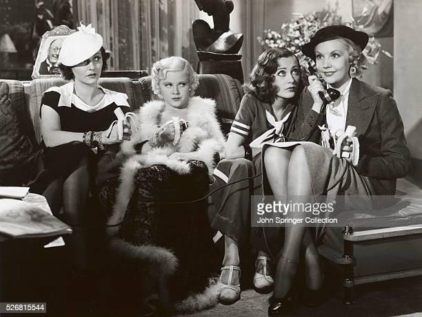 Dorothy Burgess Sally O'Neil Mary Carlisle and June Knight 1933