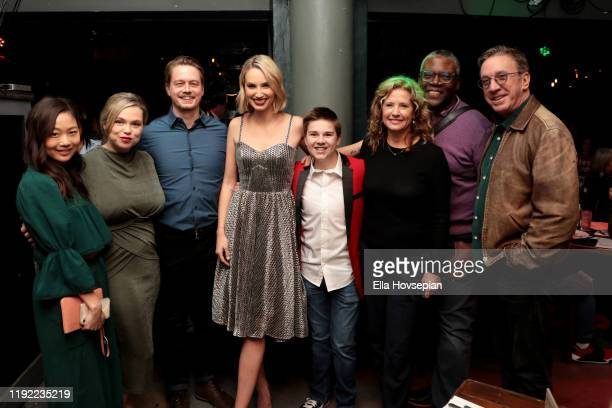 Cast of Last Man Standing at Rockwell Table and Stage on December 05 2019 in Los Angeles California