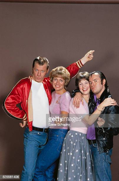 Michael McKean Penny Marshall Cindy Williams and David L Lander
