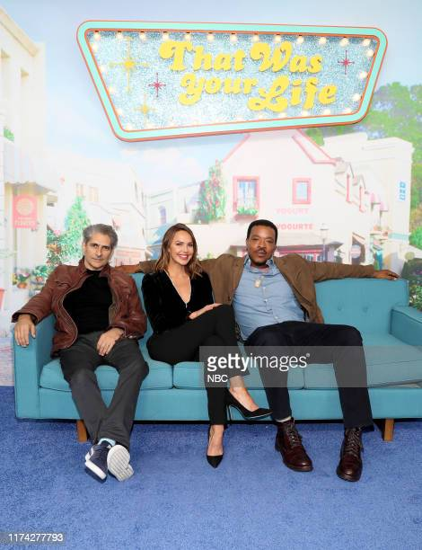 CON Cast of Lincoln Rhyme Hunt for the Bone Collector at the NBC NYCC Activation Pictured Michael Imperioli Arielle Kebbel Russell Hornsby