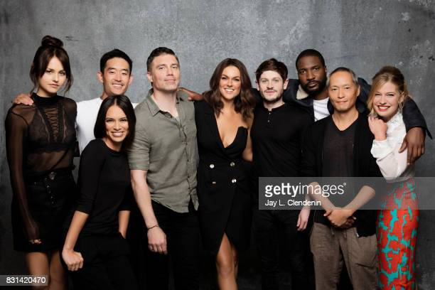"Cast of ""Marvel's The Inhumans,"" , are photographed in the L.A. Times photo studio at Comic-Con 2017, in San Diego, CA on July 21, 2017. CREDIT MUST..."