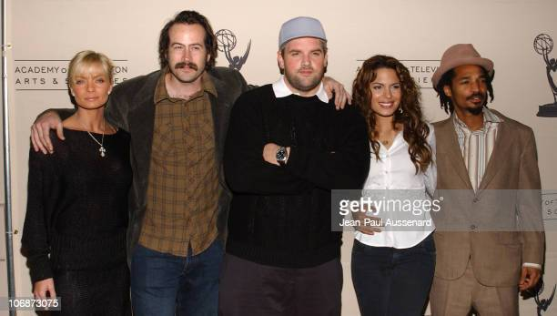 Cast of My Name is Earl Jaime Pressly Jason Lee Ethan Suplee Nadine Velazquez and Eddie Steeples