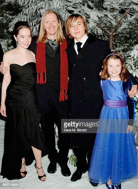 Cast of Narnia Anna Popplewell director Andrew Adamson William Moseley and Georgie Henley attend the aftershow party following the Royal Film...