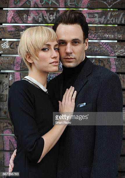 Cast Of New West End Theatre Show 'Backbeat' Abbey Road London Britain 01 Sep 2011 Ruta Gedmintas And Nick Blood
