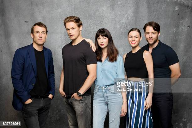 Cast of Outlander are photographed in the LA Times photo studio at ComicCon 2017 in San Diego CA on July 22 2017 CREDIT MUST READ Jay L Clendenin/Los...
