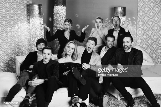Cast of Ozark attends Netflix 2019 Nominees Toast at Private Residence on January 26 2019 in Los Angeles California