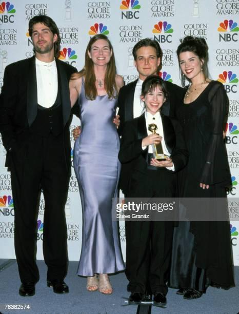 Cast of Party of Five Matthew Fox Paula Devicq Scott Wolf Lacey Chabert Neve Campbell