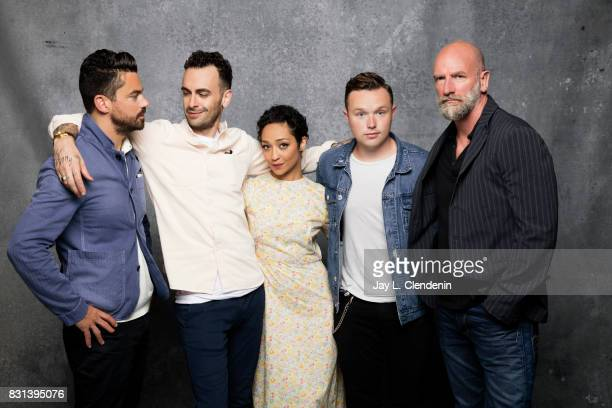 Cast of Preacher are photographed in the LA Times photo studio at ComicCon 2017 in San Diego CA on July 21 2017 CREDIT MUST READ Jay L Clendenin/Los...