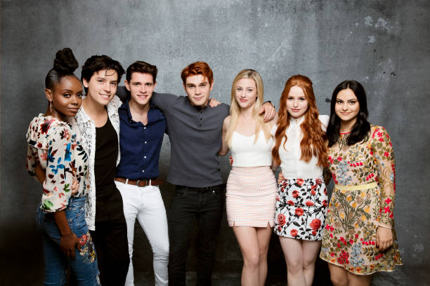 Riverdale 2017 Tv Series Images Madelaine Hd Wallpaper: Comic Con Portraits, Los Angeles Times, July 21, 2017