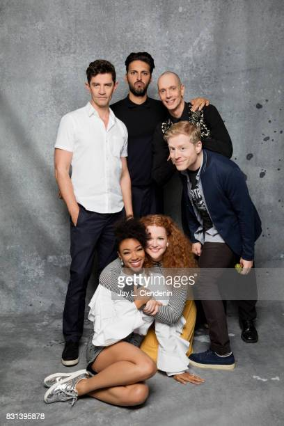 Cast of 'Star Trek Discovery' are photographed in the LA Times photo studio at ComicCon 2017 in San Diego CA on July 22 2017 CREDIT MUST READ Jay L...
