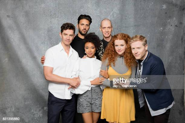 Cast of Star Trek Discovery are photographed in the LA Times photo studio at ComicCon 2017 in San Diego CA on July 22 2017 CREDIT MUST READ Jay L...