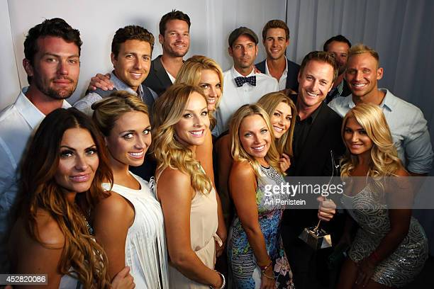 Cast of The Bachelor and The Bachelorette and host Chris Harrison attend the 2014 Young Hollywood Awards brought to you by Samsung Galaxy at The...