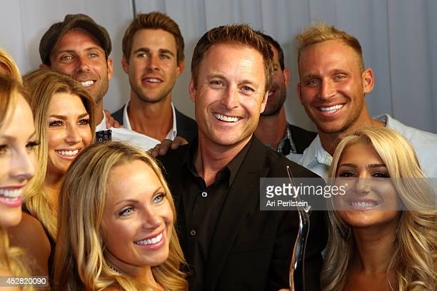 Cast of 'The Bachelor' and 'The Bachelorette' and host Chris Harrison attend the 2014 Young Hollywood Awards brought to you by Samsung Galaxy at The...