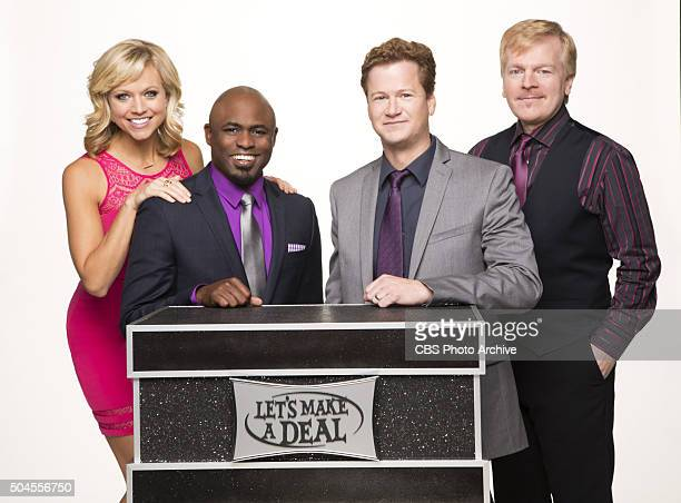 Cast of the CBS series LET'S MAKE A DEAL scheduled to air on the CBS Television Network