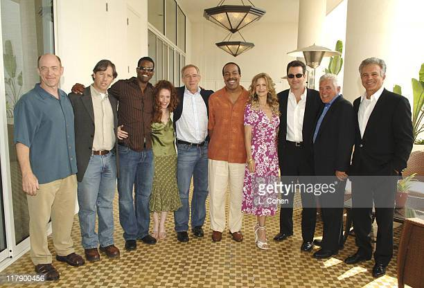 Cast of The Closer JK Simmons Michael M Robin executive producer Corey Reynolds Greer Shephard James Duff executive prooducer Robert Gossett Kyra...