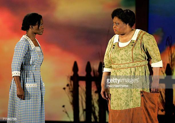 Cast of 'The Color Purple' perform onstage at the 60th Annual Tony Awards at Radio City Music Hall June 11 2006 in New York City