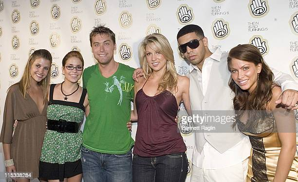 Cast of the Degrassi during Celebration of The N's 5th Anniversary at Marquee in New York City at Marquee in New York City New York United States