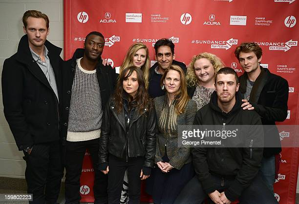 Cast of 'The East' Premiere attend premiere during Eccles Center Theatre during the 2013 Sundance Film Festival on January 20 2013 in Park City Utah