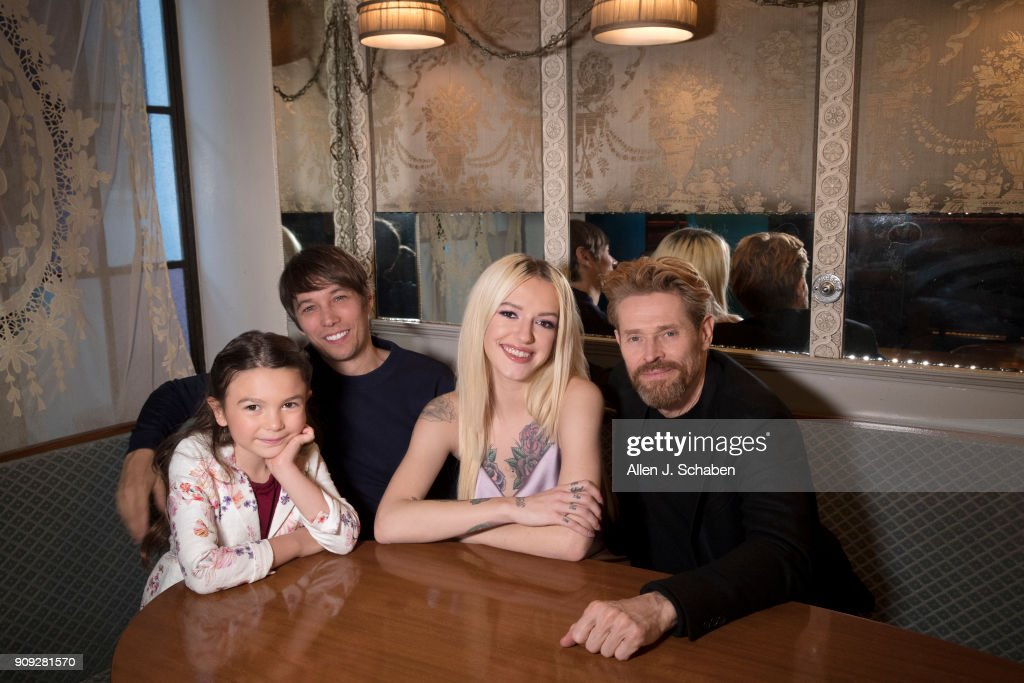 Cast of The Florida Project, Los Angeles Times, January 9, 2018
