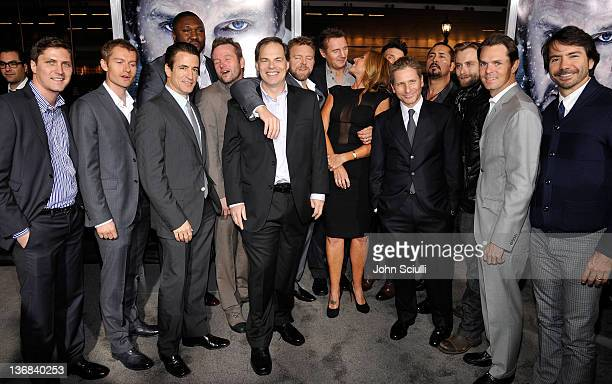 Cast of The Grey Ben CotnerJames Badge Dale Dermont Mulroney Nonso Anozie Dallas Roberts Tom Ortenberg Joe Carnahan Liam Neeson Jules Daly Frank...