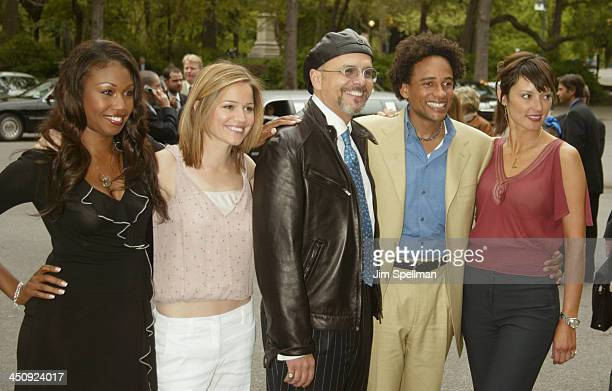 Cast of The Handler Tanya Wright Anna Belknap Joe Pantoliano Hill Harper and Lola Glaudini