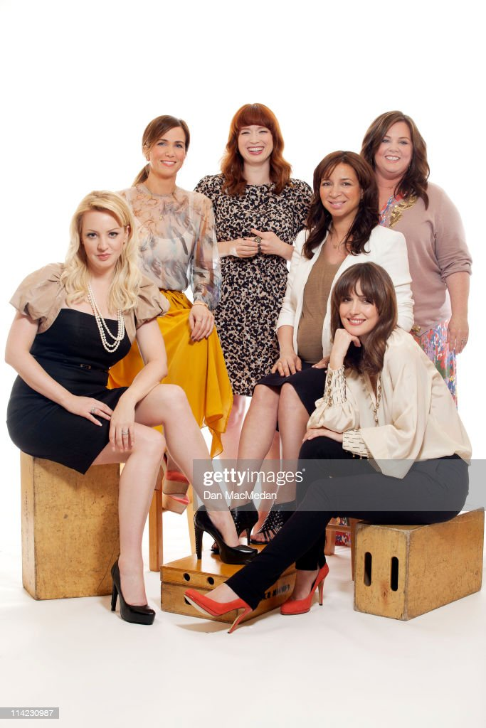 Cast of Bridesmaids, USA Today, May 12, 2011