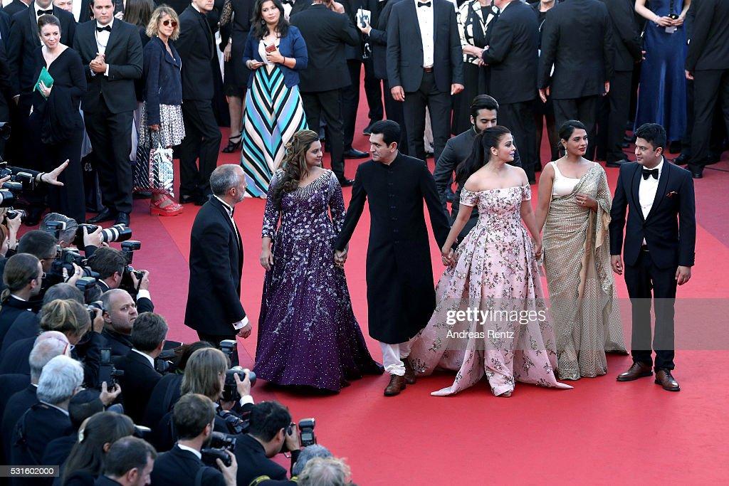 Cast of the movie 'Sarbjit' 'producer Deepshika Deshmukh actors Darshan Kumaar producer Producer Jackky Bhagnani actors Aishwarya Rai Rich