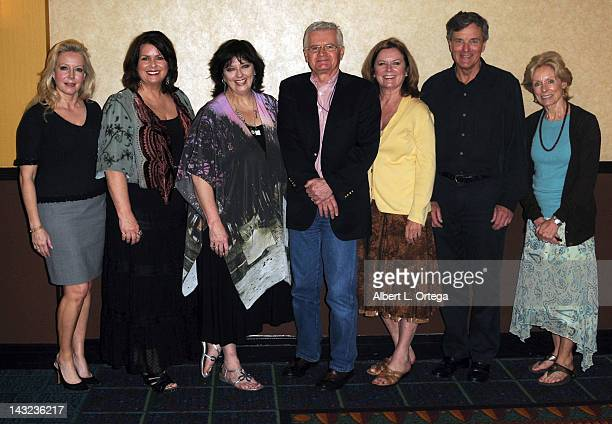 Cast of The Sound Of Music Kym Karath Debbie Turner Angela Cartwright Duane Chase Heather Menzies Nicholas Hammond and Charmian Carr participate in...