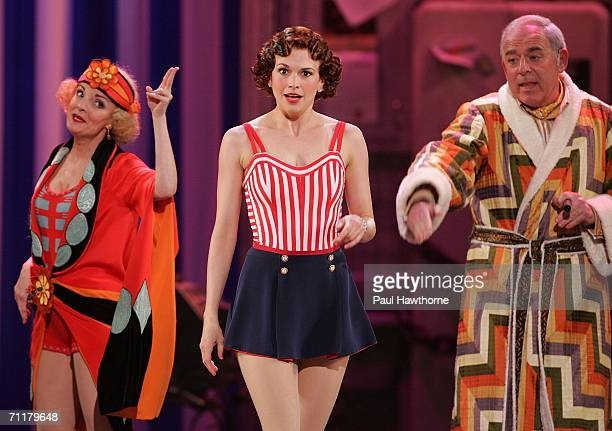 Cast of the The Drowsy Chaperone onstage at the 60th Annual Tony Awards at Radio City Music Hall June 11 2006 in New York City New York