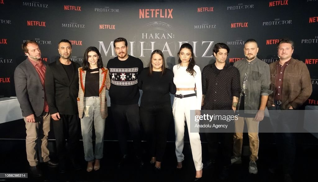 Cast of the upcoming Turkish Netflix serie