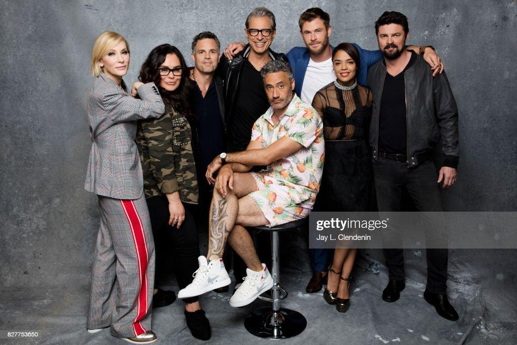 Comic Con Portraits, Los Angeles Times, July 21, 2017 : News Photo