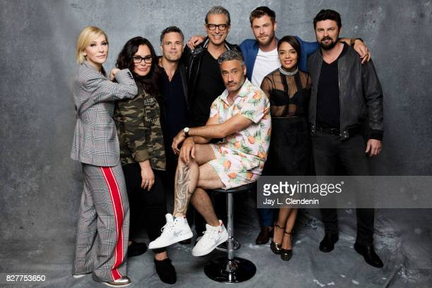 Cast of 'Thor Ragnarok' are photographed in the LA Times photo studio at ComicCon 2017 in San Diego CA on July 22 2017 CREDIT MUST READ Jay L...