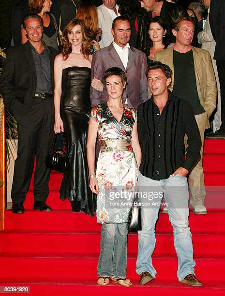 Cast of TV serie 'StTropez' David Brecourt Tonya Kinzinger Benedicte Delmas