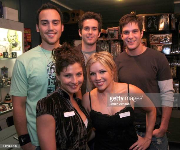 Cast of Unrest Joshua Alba Scot Davis Jay Jablonski Marisa Petroro and Corri English