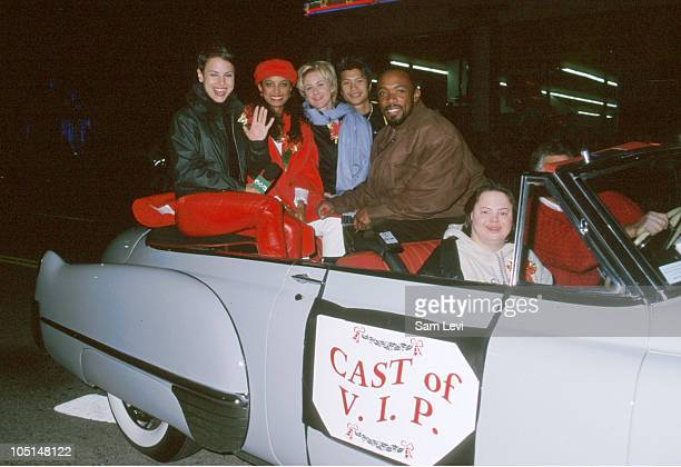 Cast of V.I.P. During Hollywood Christmas Parade at Hollywood Boulevard in Hollywood, California, United States.