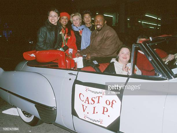 Cast of VIP during Hollywood Christmas Parade at Hollywood Boulevard in Hollywood California United States